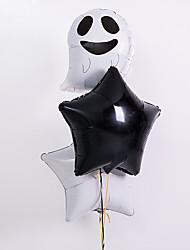 Недорогие -Воздушный шар Фольга 3шт Halloween