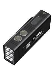 Недорогие -Nitecore TM10K Ручные фонарики Светодиодная лампа LED излучатели 1 Режим освещения с батарейками и зарядным устройством Cool Повседневное использование