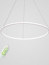 Недорогие -CONTRACTED LED Круглый Люстры и лампы Рассеянное освещение Окрашенные отделки Алюминий Регулируется, Диммируемая 110-120Вольт / 220-240Вольт / Интегрированный светодиод / FCC