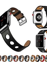 economico -Cinturino per orologio  per Apple Watch Series 4/3/2/1 Apple Chiusura classica / Cinturino di pelle Vera pelle Custodia con cinturino a strappo
