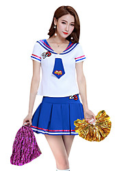 ad1127716 cheap Cheerleader Costumes-Cheerleader Costumes Outfits Women's  Performance Polyester Split Joint