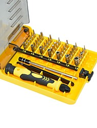 cheap -Chrome Vanadium Steel Phone Repair / Watch repair 45 in 1 Tool Set