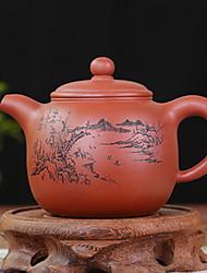 Недорогие -Керамика Heatproof / Телесный нерегулярный 1шт чайник