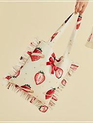 baratos -saco Casual Doce Mulheres Preto / Branco Estampado Bolsa Náilon Chinês Mistura de Seda / Algodão Fantasias