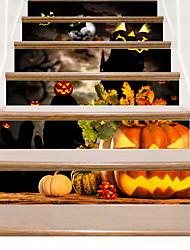 billiga -Dekrativa Väggstickers - Väggstickers Flygplan Halloween Vardagsrum