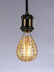Недорогие -1шт 40 W E26 / E27 G95 Тёплый белый 2300 k Ретро / Диммируемая / Декоративная Лампа накаливания Vintage Эдисон лампочка 220-240 V