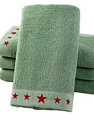 Недорогие -Высшее качество Полотенца для мытья, Геометрический принт Чистый хлопок Ванная комната 1 pcs
