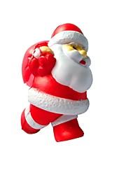baratos -Brinquedos de Apertar Antiestresse Ternos de Papai Noel Fofo Brinquedo foco Brinquedos de escritório Poliestireno 1 pcs Infantil Adulto Todos Brinquedos Dom
