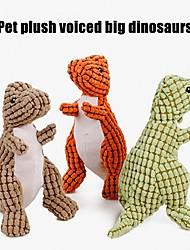 Недорогие -Жевательные игрушки / Игрушки с писком / Игрушка для очистки зубов Мягкость / Войлок / Ткань / обожаемый Ткань Назначение Собаки
