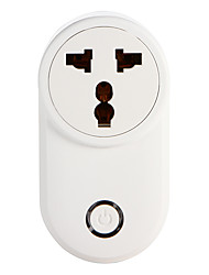 cheap -WETO W-T03 IN/ZA WiFi Smart Plug for Smart Home Remote Control Works With Alexa Google Home Timer Socket for iOS Android
