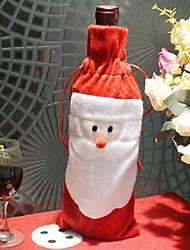 baratos -Sacos e Transportadores de Vinho Natal Não-Tecelado Cubo Novidades Decoração de Natal