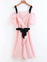 cheap -Women's Going out A Line Dress Strap