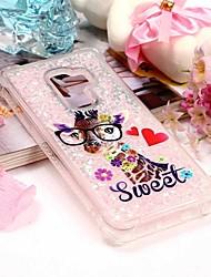 baratos -Capinha Para Samsung Galaxy S9 Plus / S9 Carteira / Porta-Cartão / Com Suporte Capa traseira Animal Macia TPU para S9 / S9 Plus / S8 Plus