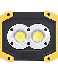 abordables -ismartdigi i-839 LED Flashlight Floodlight Lampes Torches LED Portable / Antidérapage Camping / Randonnée / Spéléologie / Usage quotidien / Cyclisme Jaune