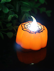 Недорогие -брелонг Хэллоуин бар участник украшение вел паук свеча ночной свет 1 шт.