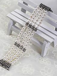 Недорогие -Ремешок для часов для Apple Watch Series 4/3/2/1 Apple Кожаный ремешок Керамика Повязка на запястье
