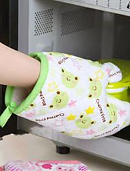 Недорогие -1шт практичная рукавица микроволновой печи изолированная нескользящая защитная перчатка