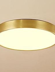 baratos -Circular Montagem do Fluxo Luz Ambiente Tricolor 220-240V Branco quente + branco Fonte de luz LED incluída / Led Integrado