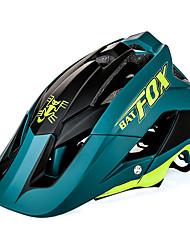 Недорогие -Взрослые Мотоциклетный шлем 8 Вентиляционные клапаны Ударопрочный прибыль на акцию, ПК Виды спорта Велосипедный спорт / Велоспорт - Синий / Red and White / Черный / Белый Универсальные