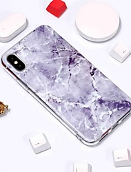 billiga -fodral Till Apple iPhone XR / iPhone XS Max Mönster Skal Marmor Mjukt TPU för iPhone XS / iPhone XR / iPhone XS Max