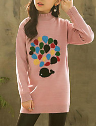 cheap -Kids Girls' Polka Dot Long Sleeve Sweater & Cardigan