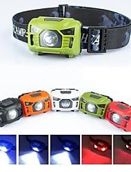 Недорогие -Налобные фонари огни безопасности Фары для велосипеда Светодиодная лампа LED 5 излучатели 1000 lm 5 Режим освещения с USB кабелем Водонепроницаемый, Портативные, Регулируется