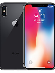 billiga -Apple iPhone X A1865 5.8 tum 64GB 4G smarttelefon - renoverade(Grå)