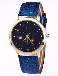 Недорогие -Муж. Жен. Наручные часы электронные часы Кварцевый Черный / Белый / Синий Повседневные часы Милый Аналоговый На каждый день Мода - Красный Синий Розовый