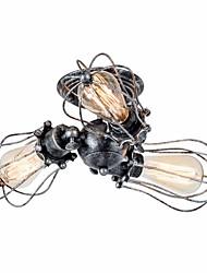 Недорогие -3-Light Монтаж заподлицо Рассеянное освещение Окрашенные отделки Металл Регулируется 110-120Вольт / 220-240Вольт Лампочки не включены / E26 / E27