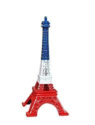 Недорогие -19cm красочная франция paris модель Эйфелевой башни модель домашнего украшения металлическая модель