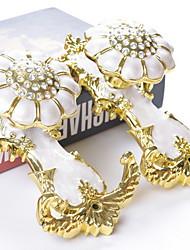 Недорогие -Curtain Accessories  Алюминиевый сплав Настенные крючки Акрил 2pcs
