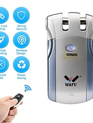 cheap -WAFU WF-018 Plastics / Zinc Alloy Intelligent Lock Smart Home Security iOS / Android System Low battery reminder Home / Home / Office / Bedroom (Unlocking Mode Remote Controller)