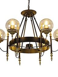 baratos -6-luz Lustres Luz Superior - Estilo Mini, 110-120V / 220-240V, Branco Quente, Lâmpada Não Incluída / 10-15㎡ / E26 / E27