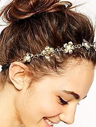 Недорогие -Сплав Резинка для волос с Цветы 1 шт. На каждый день Заставка