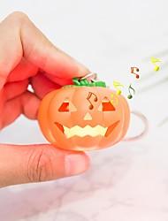 abordables -brelong halloween éclairage tête de citrouille et son porte-clés 1pcs