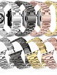 abordables -Bracelet de Montre  pour Apple Watch Series 4/3/2/1 Apple Bracelet Sport / Boucle Classique Métallique / Acier Inoxydable Sangle de Poignet