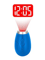 cheap -BRELONG® 1pc Alarm Clock LED Night Light / Smart Night Light Red Button Battery Powered Easy Carrying / Wireless <5 V