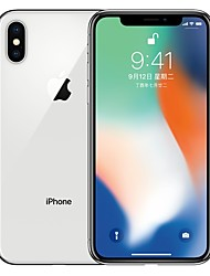 billiga -Apple iPhone X A1865 5.8 tum 64GB 4G smarttelefon - renoverade(Silver)
