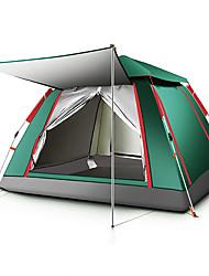Недорогие -TANXIANZHE® 5 человек Семейный кемпинг-палатка На открытом воздухе С защитой от ветра, Дожденепроницаемый, Воздухопроницаемость Однослойный Автоматический Палатка 2000-3000 mm для