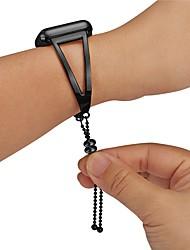 abordables -Alliage Bracelet de Montre  Sangle pour Apple Watch Series 3 / 2 / 1 Noir Autre 0.8cm / 0.31 Pouces