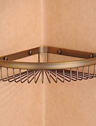 Недорогие -Полка для ванной Новый дизайн Античный Латунь 1шт На стену
