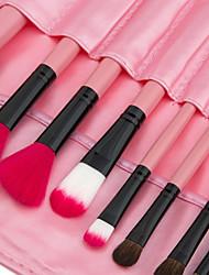 economico -24pcs Pennelli per il trucco Professionale Pennello per cipria / Pennello per ombretto / Pennello per labbra Coppa larga Plastica