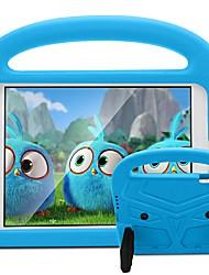 Недорогие -Кейс для Назначение Apple iPad New Air (2019) / iPad Air / iPad 4/3/2 Защита от удара / Защита от пыли / Защита от влаги Чехол Мультипликация / 3D в мультяшном стиле Мягкий Ластик / iPad (2017)