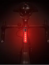 Недорогие -Светодиодная лампа Велосипедные фары Задняя подсветка на велосипед огни безопасности задние фонари Горные велосипеды Велоспорт Водонепроницаемый Портативные Быстросъемный USB 1000 lm Белый Красный
