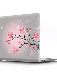 """Недорогие -MacBook Кейс Цветы ПВХ для MacBook Pro, 13 дюймов / MacBook Pro, 15 дюймов с дисплеем Retina / New MacBook Air 13"""" 2018"""