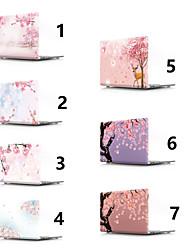 abordables -MacBook Etuis Fleur PVC pour MacBook Pro 13 pouces / MacBook Pro 15 pouces / MacBook Air 13 pouces