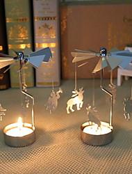 Недорогие -Подарки Праздник Круглый Оригинальные Рождественские украшения