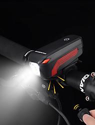 Недорогие -Передняя фара для велосипеда Светодиодная лампа Велосипедные фары Велоспорт Водонепроницаемый, Портативные, Быстросъемный Перезаряжаемая батарея 500 lm Перезаряжаемая батарея Белый