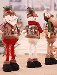 Недорогие -Аксессуары для вечеринок Рождество / Вечеринка / ужин Орнаменты / Фавор украшения Нетканые Новогодняя тематика / Костюмы Санта Клауса / Elk