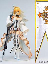 Недорогие -Аниме Фигурки Вдохновлен Fate / zero Saber ПВХ 24 cm См Модель игрушки игрушки куклы